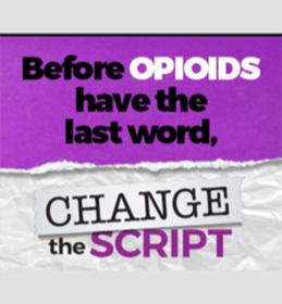 Change The Script Logo Tagline Image